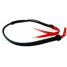 Punishment Whip Braided Leather
